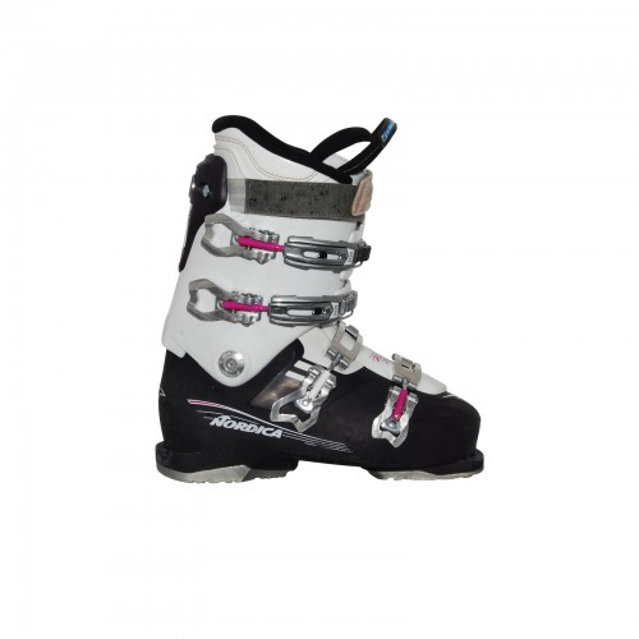 Chaussure ski occasion Nordica NXT 75 R W violet blanc