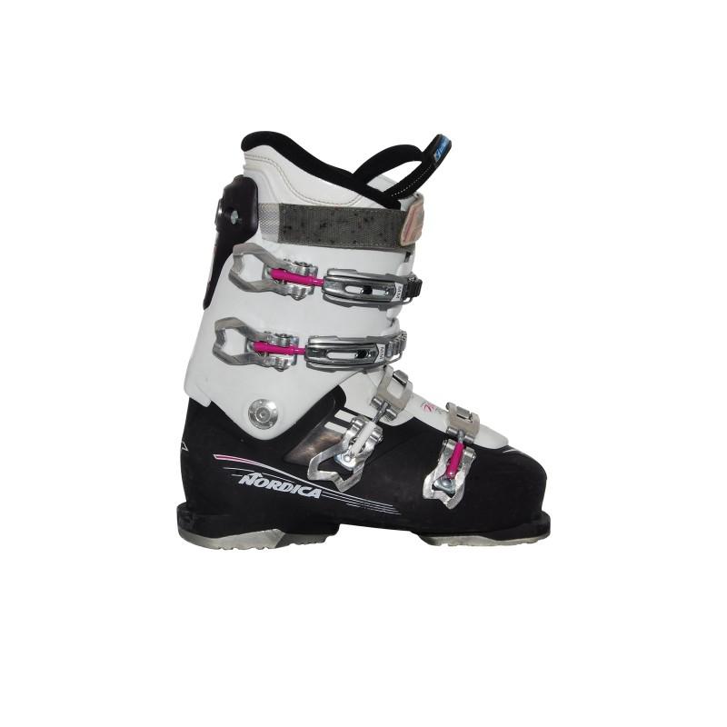 Chaussure ski occasion Nordica NXT 75 R W violet blanc - Qualité A