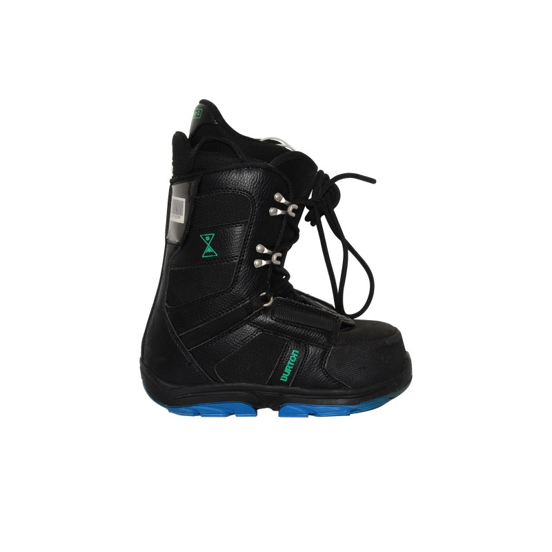 Boots used Junior Burton progression black kid - Quality A