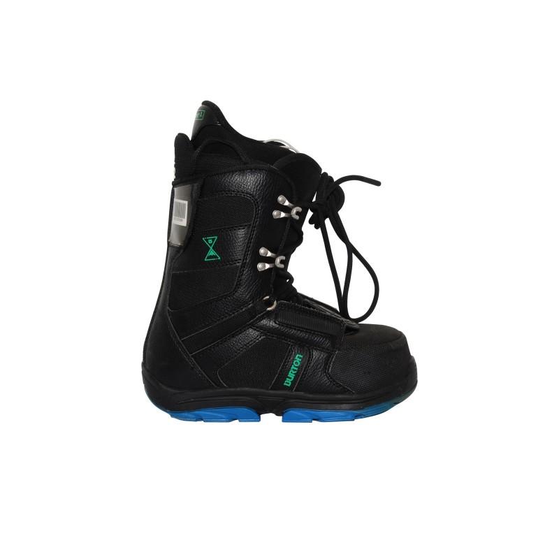 Boots Gelegenheit Junior Burton Fortschritt schwarz - Qualität A