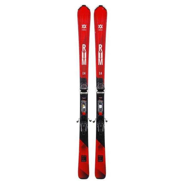 Ski occasion Volkl RTM 7.4 + fixation