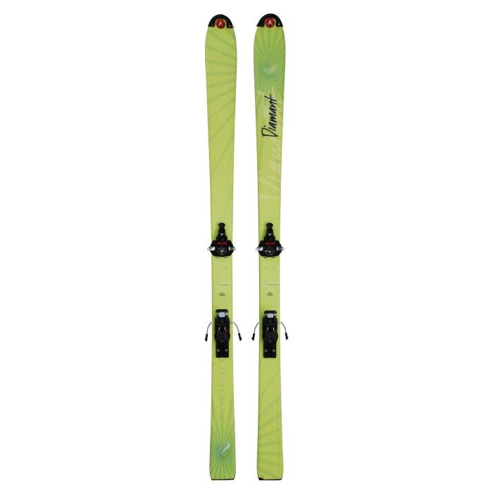 Ski occasion RANDO Dynastar Espace diamant + fixations Fritschi Xenic 10 Qualité A