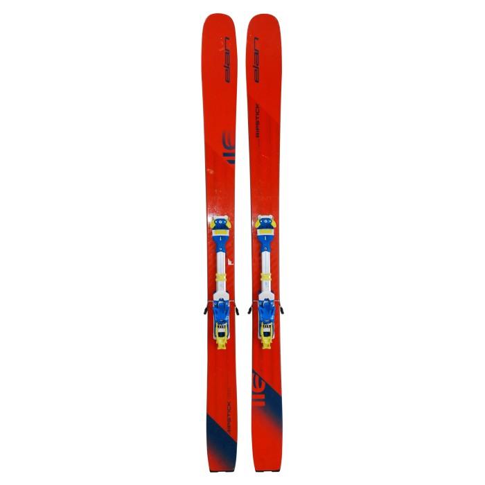 ski touring Elan Ripstick 116 included Tyrolia Ambition 12