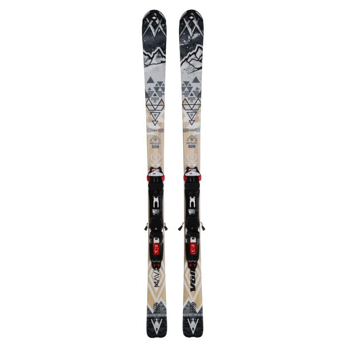 Ski occasion RANDO Völkl Mauja + fixations Marker Tour F10 - Qualité A