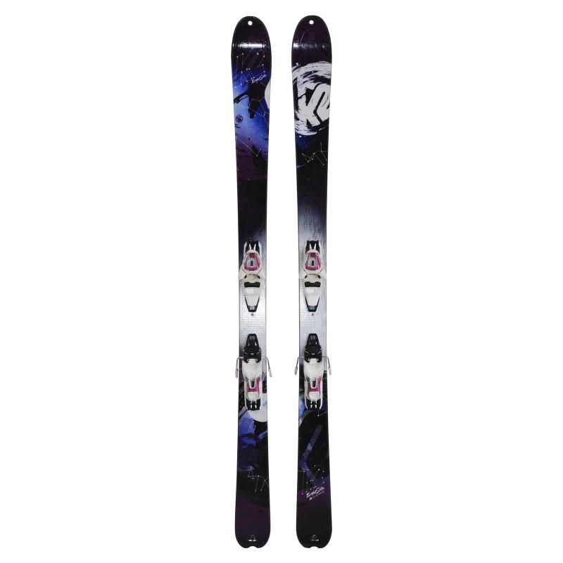 Ocasión de esquí K2 Lado brillante - fijaciones - Calidad A