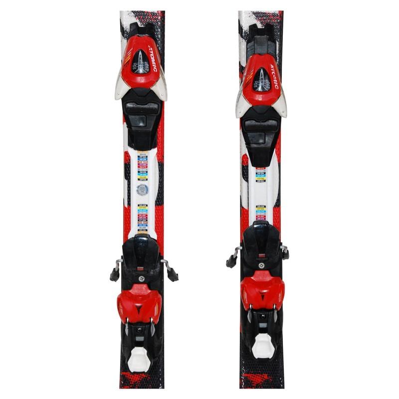 Gebrauchte Ski-Junioren Atomic Redster Edge + Befestigungen - Qualität A