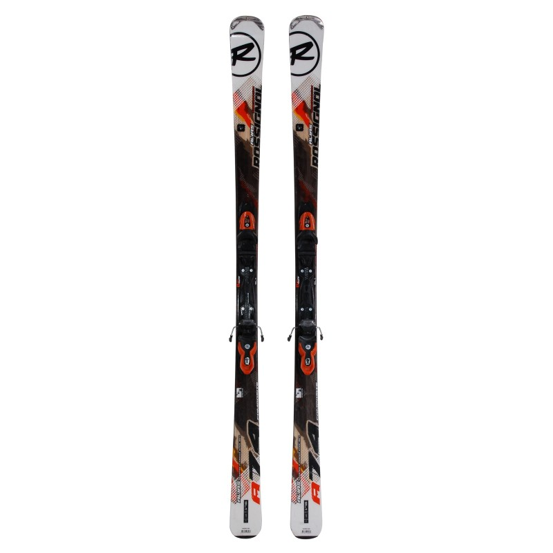 Ski used Rossignol Alias 74 composite - bindings - Quality A