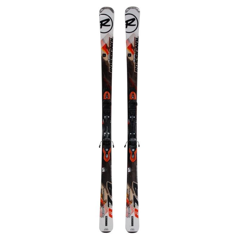 Gebrauchte Ski Rossignol alias 74 composite + Befestigungen - Qualität A