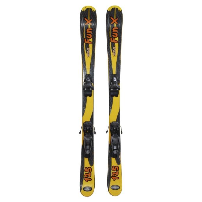 Mini used ski Rossignol the Mini - bindings