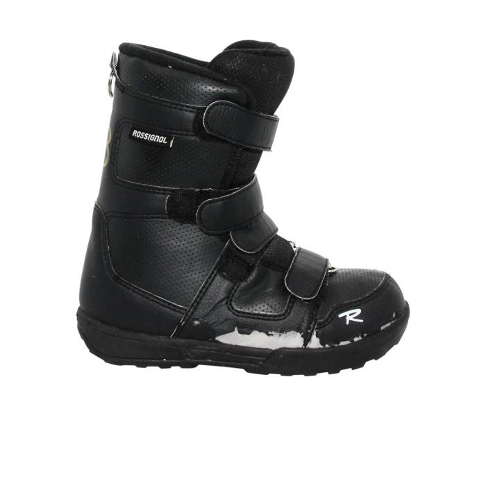Boots snowboard occasion junior Rossignol noir scratch