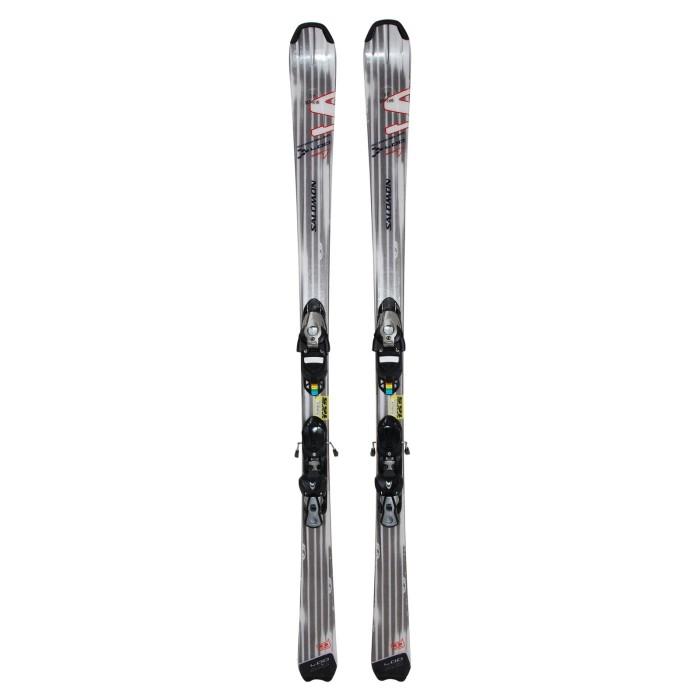 Ski occasion Salomon Scrambler 400 + Fixations