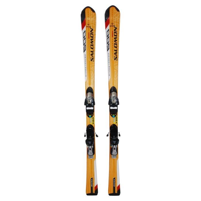 Ski occasion Salomon Streetracer Spaceframe 600 + fixations