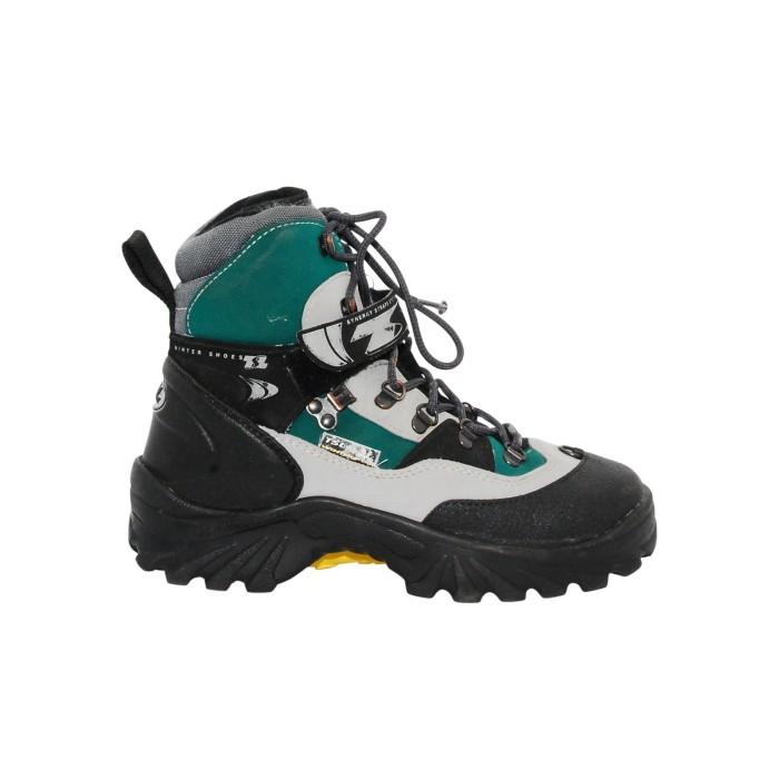 Chaussure occasion de raquettes à neige occasion TSL gris/vert