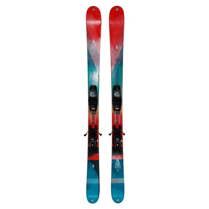 Esqui occasion K2 Empress + fijaciones