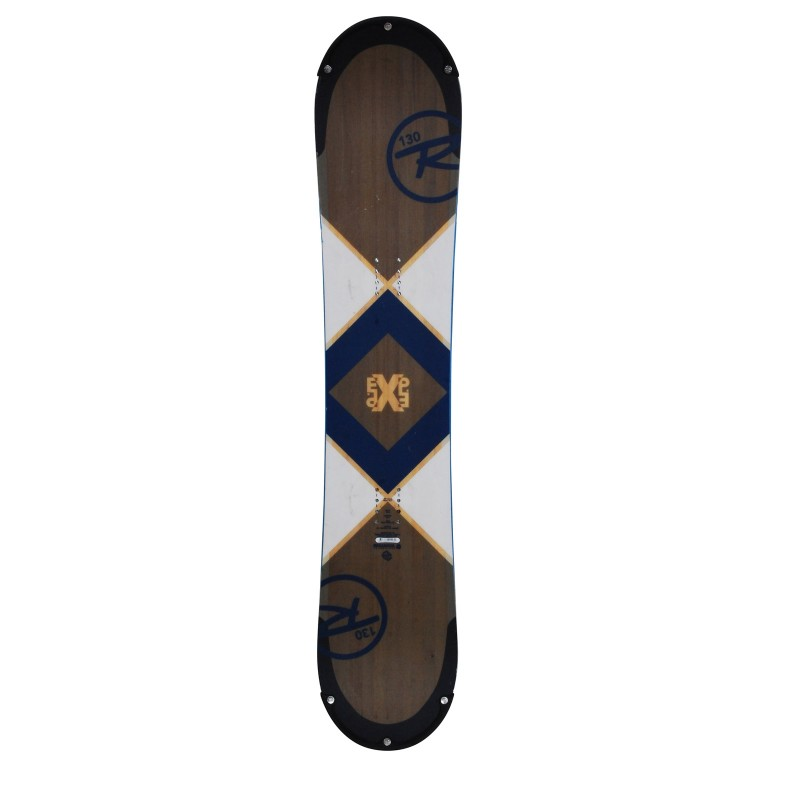Snowboard junior occasion Rossignol EXP regular + fixation - Qualité A