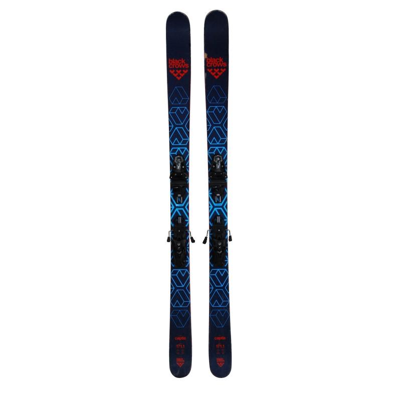 Ski occasion Black Crows Captis + fixations - Qualité B
