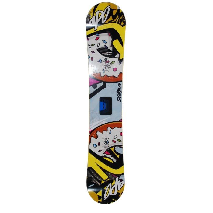 Snowboard occasion Apo Selekta + fixation coque