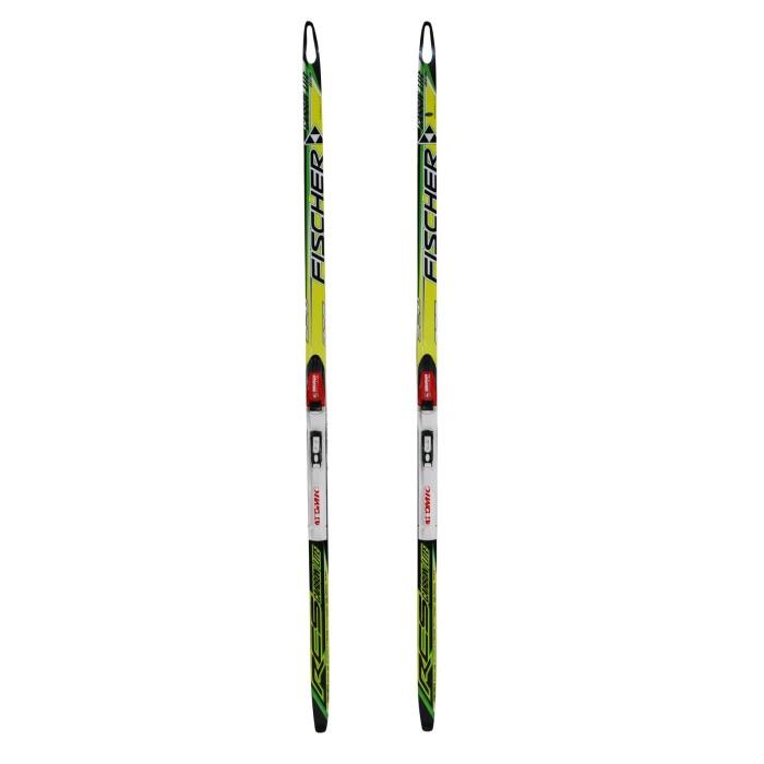 Ski de fond occasion Junior Fischer RCS Carbon Lite + fixation SNS profil