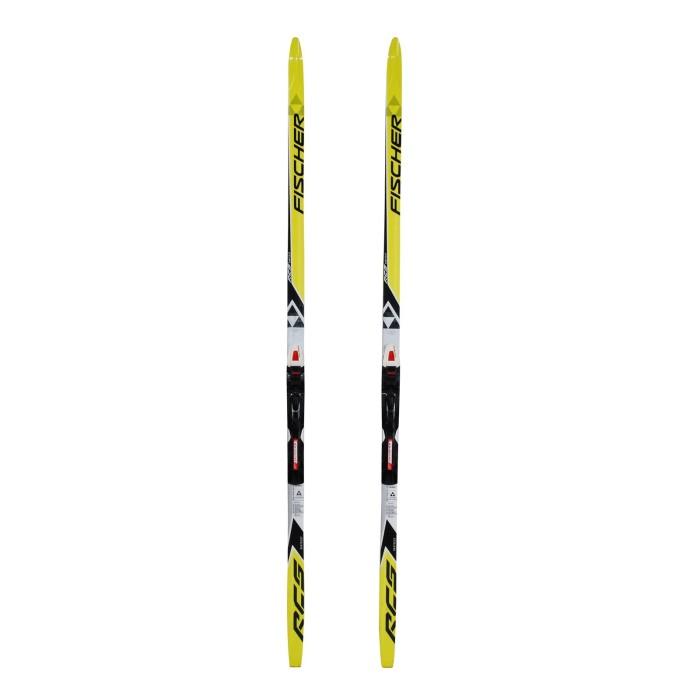 Cross-country ski Junior Fischer RCS Skatecut+ bindings SNS profil