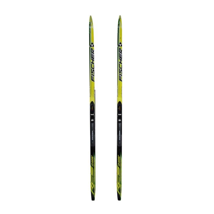 Cross-country ski Junior Fischer RCS Classic+ bindings SNS profil