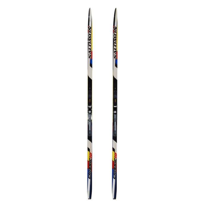 Used cross-country skiing Junior Salomon team 10 Jr Cl + SNS Pilot binding