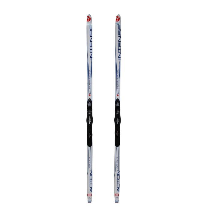 Cross-country ski Junior Rossignol action ar cut + bindings NNN