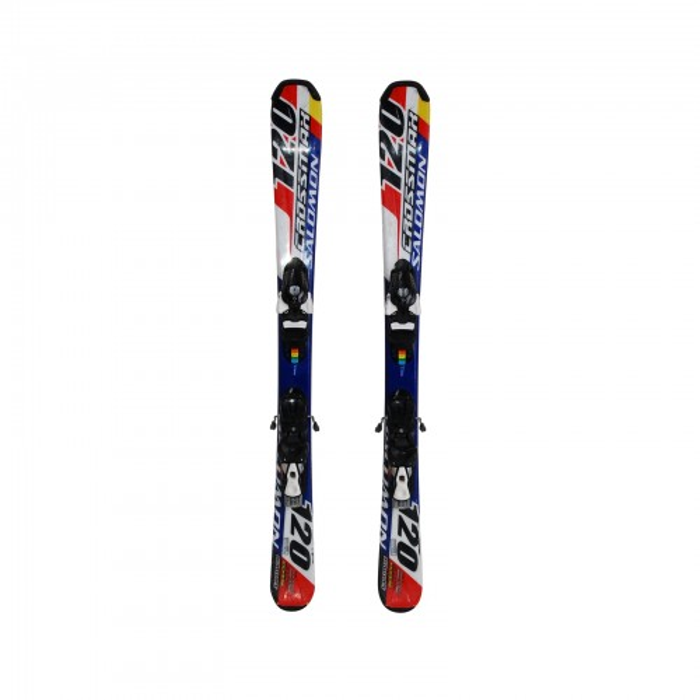 Mini Ski occasion Salomon Crossmax 120 + fixations