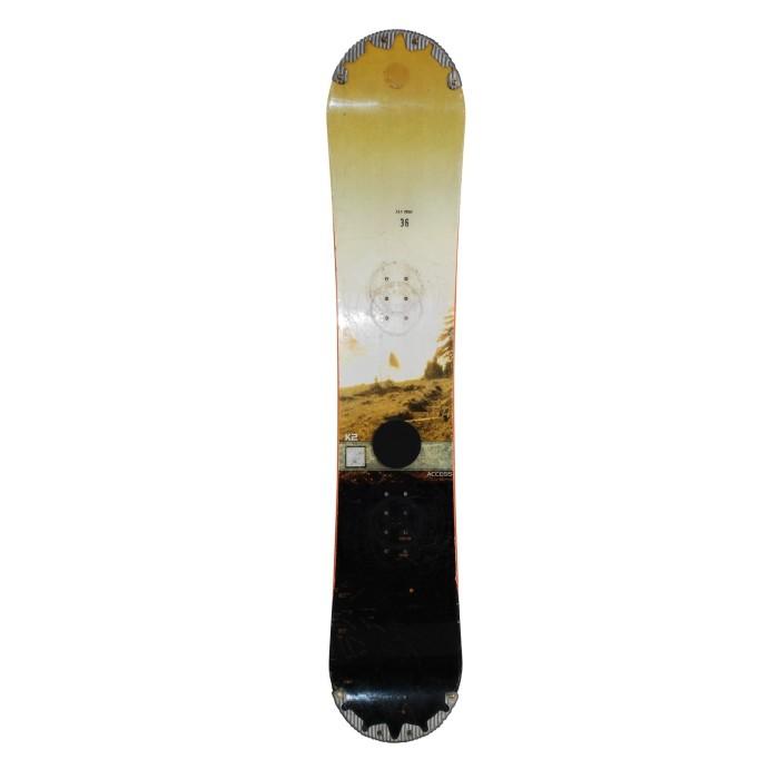 Snowboard used K2 Access - hull fastening