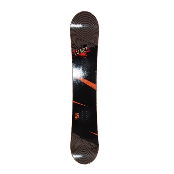 Used Snowboard Nitro Lectra + fixation