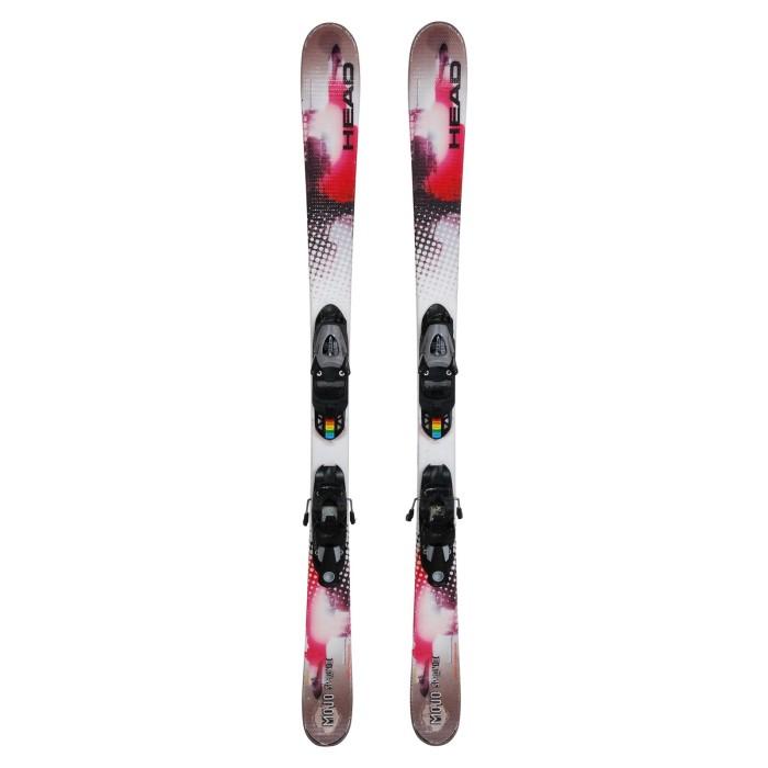 Ski junior occasion Head Mojo Spawn 3 + fixations