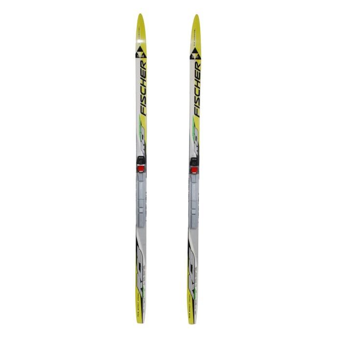 Cross-country ski junior Fischer RCS Sprint Crown + bindings SNS profil
