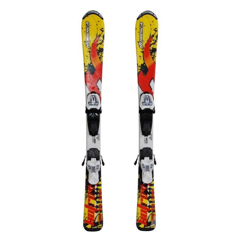 Ski junior opportunity Nordica Hot Rod ' bindings - Quality A