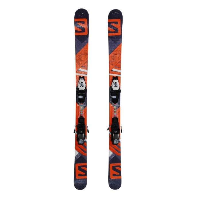 Junior used ski Salomon NFX + bindings
