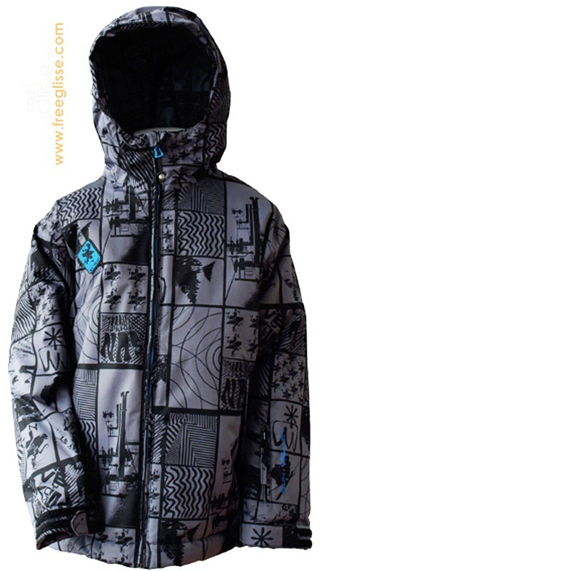 Veste ski SUN VALLEY Show Grey