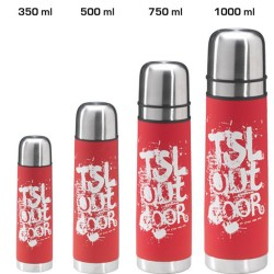 Flask isotherme rouge