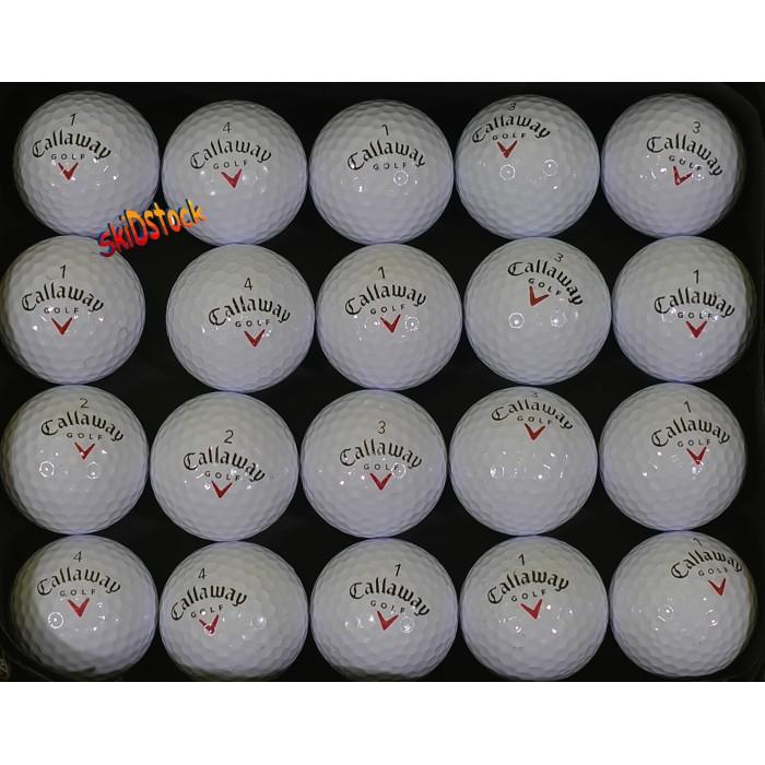 Lots de 20, 50 ou 100 Balles de golf Callaway qualitée A/B
