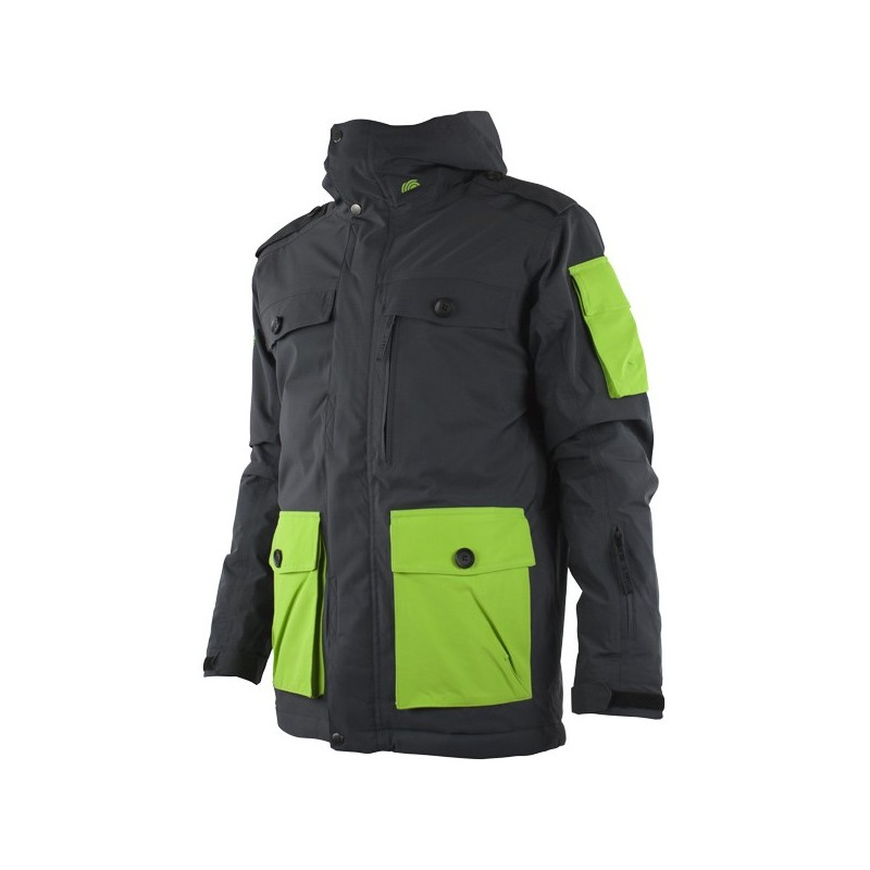 Veste Ski Junior WATTS Simeo anthracite/vert
