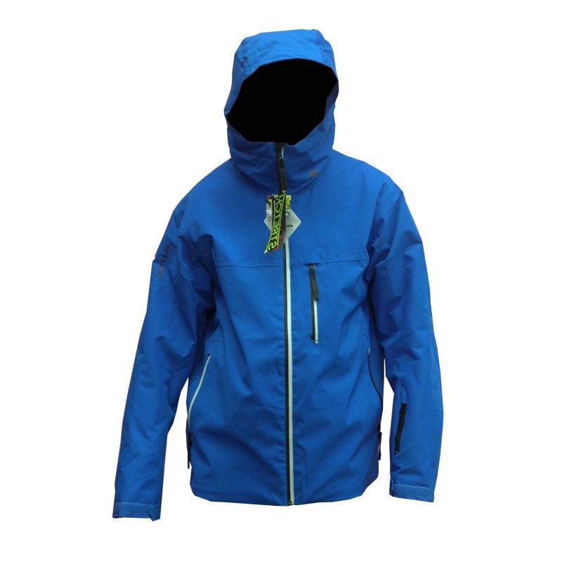 Veste Ski Junior WATTS Gamma bleu