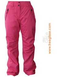 Pantalon Ski fille Watts Life rose