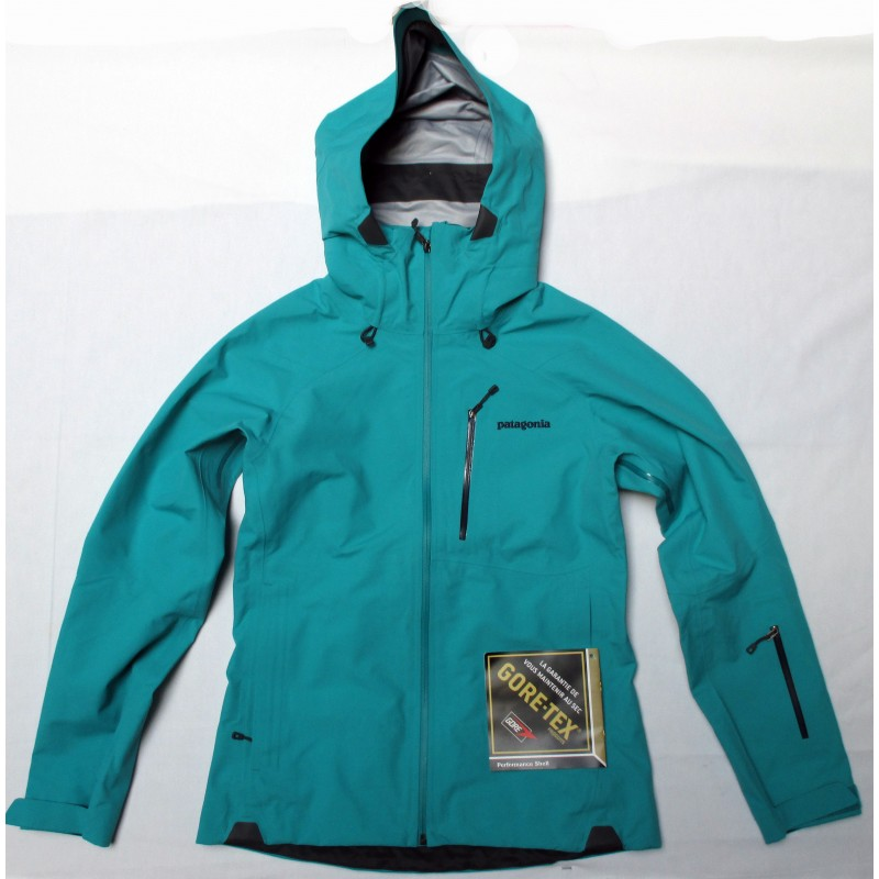 veste ski femme patagonia primo jacket gore tex turquoise. Black Bedroom Furniture Sets. Home Design Ideas