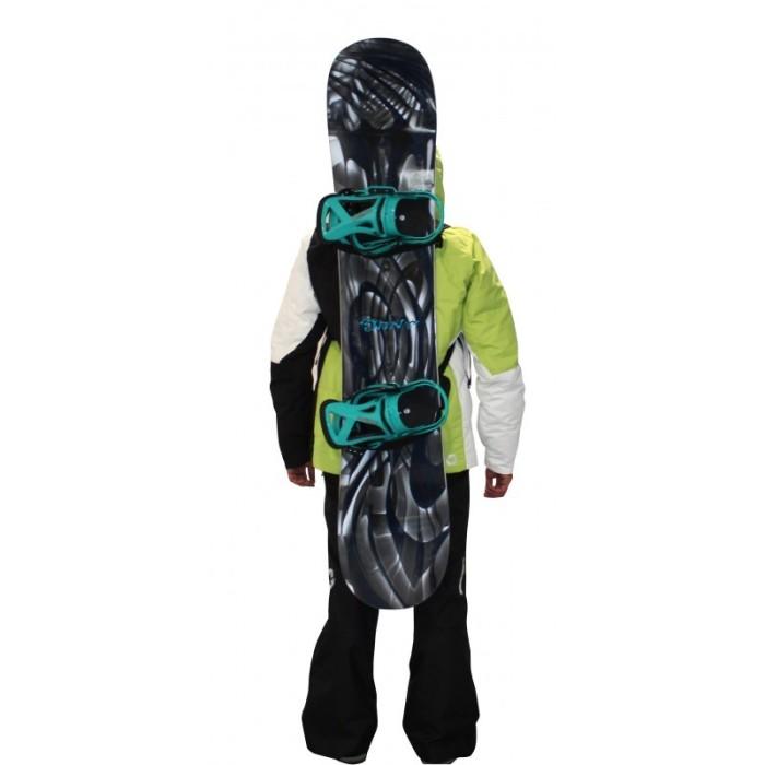 SurfBack ist der ultimative Snowboarder für Surfer!