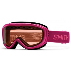 Masque de Ski Smith Transit fuschia static
