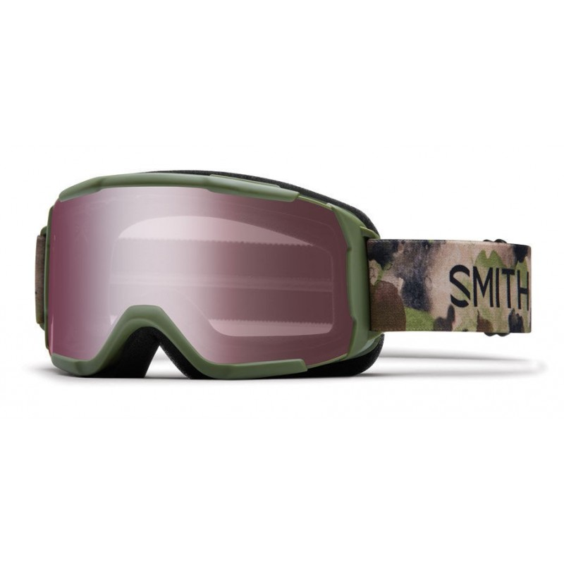 Masque de Ski Smith Daredevil olive haze