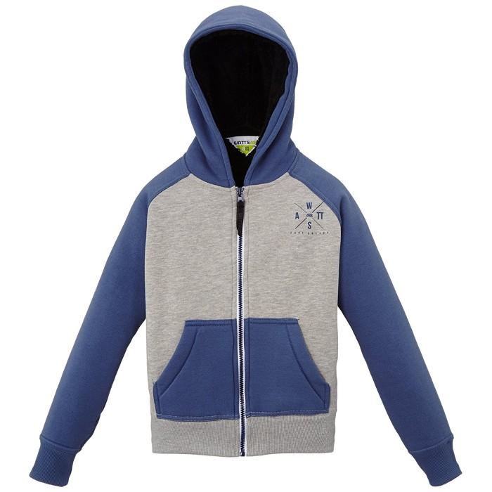WATTS Gaujy Herren Sweatshirt, Grau Blau n°118