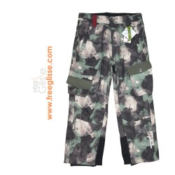 Pantalon Ski WATTS Glass camouglage