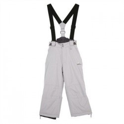 Junior Ski Pants Peak Mountain Emix Gray No. 150
