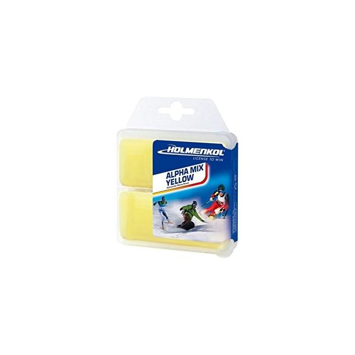 Holmenkol Wachs ALPHA MIX 2x35gr