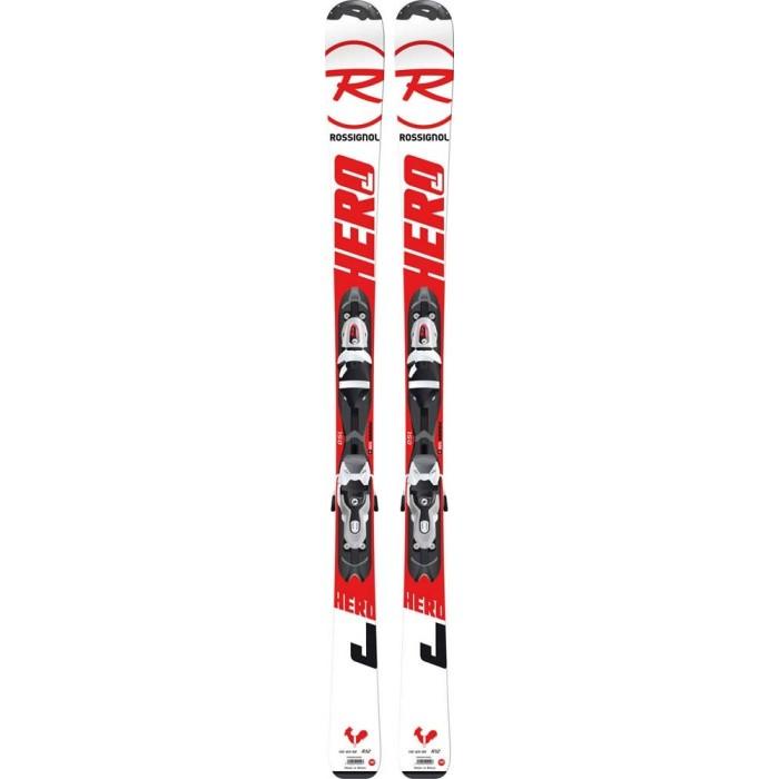 Junior ski Rossignol Hero JR + Bindungen