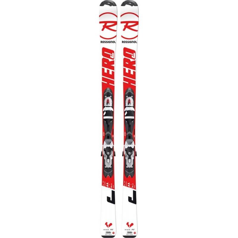 Ski junior Rossignol Hero JR + fixations