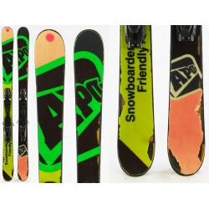 Ski occasion junior malcolm 2ème choix + fixation